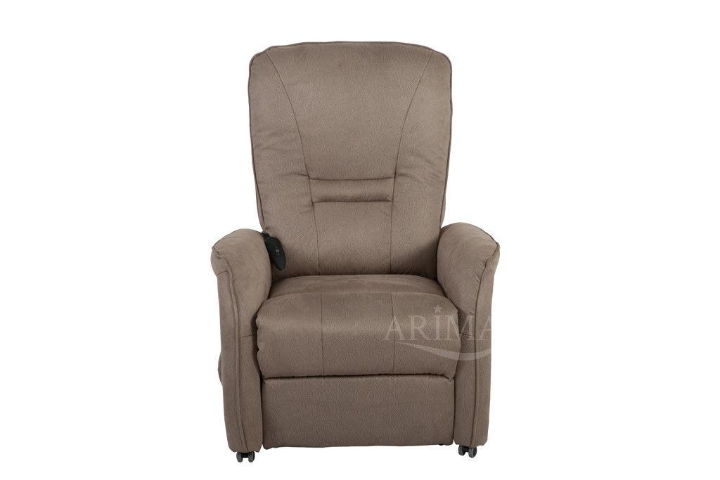 Кресло Arimax Dr Max DM02007 (Серо-коричневый) - фото 2