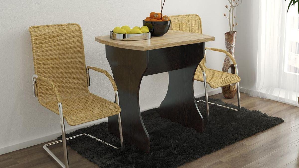 Обеденный стол ТриЯ на деревянных ножках Турин 2 - фото 1