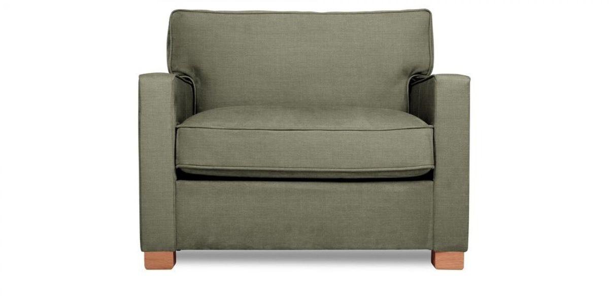 Кресло WOWIN Табу (Металлическо-серая рогожка) - фото 2
