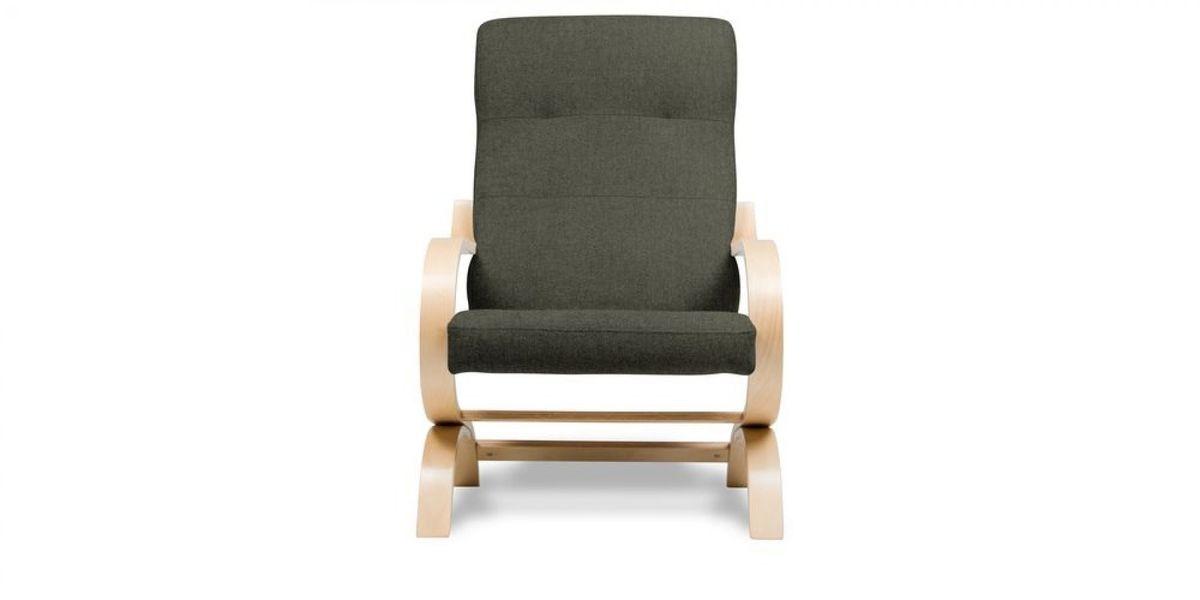 Кресло WOWIN Вейв (Темно-коричневый велюр) - фото 2