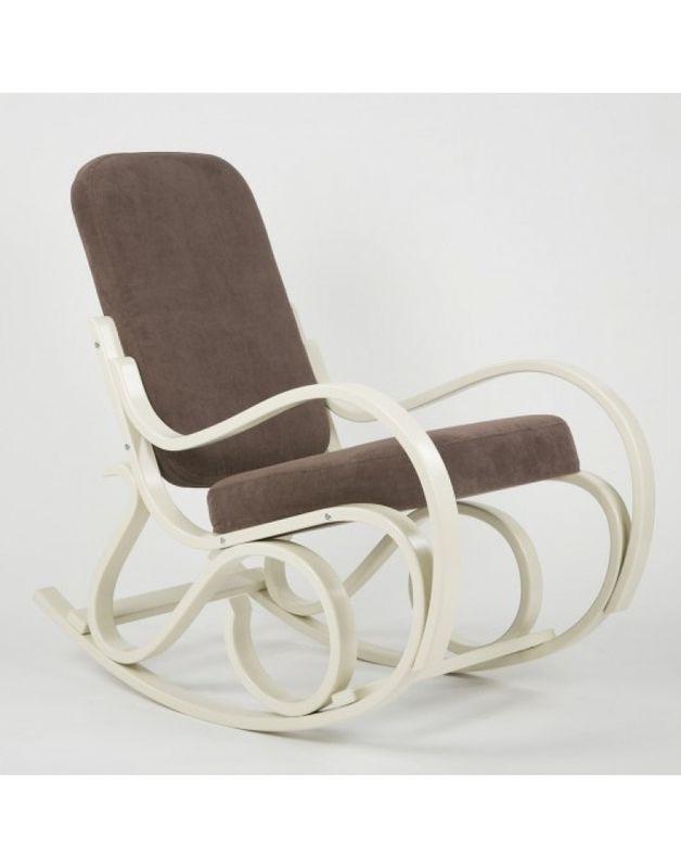 Кресло Impex Луиза Бежевый (Лиловый) - фото 4