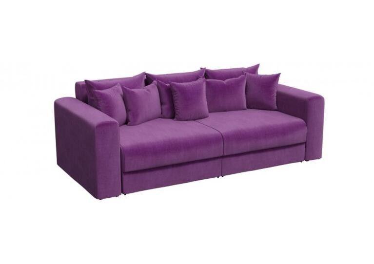 Диван Craftmebel прямой Мэдисон фиолетовый вельвет 1 - фото 1