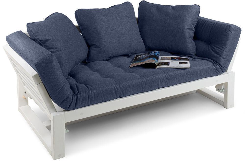 Диван Woodcraft Кушетка Балтик Textile Blue - фото 2