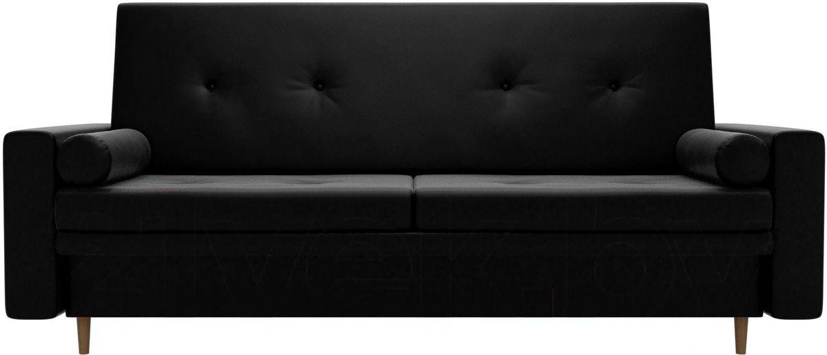 Диван Mebelico Белфаст 100601 экокожа черный - фото 1