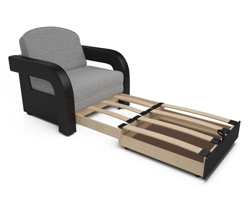 Кресло Мебель-АРС Кармен-2 (рогожка серая) - фото 5