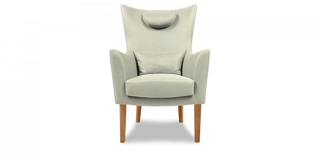 Кресло WOWIN Элеганза высокое (Кремовый велюр) - фото 2