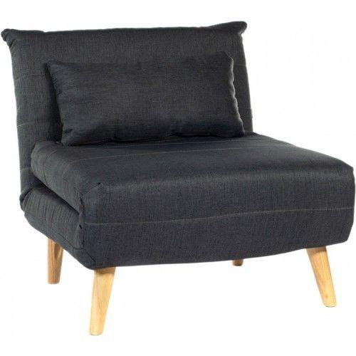 Кресло Альта Мебель Nordic 1 тёмно-серый - фото 1
