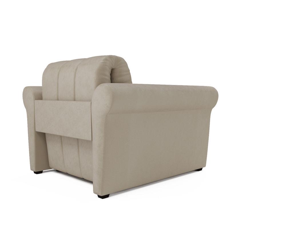 Кресло Мебель-АРС Гранд (бархат бежевый) - фото 4