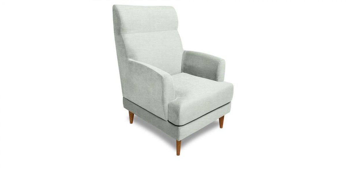 Кресло WOWIN Айленд (Пастельно-голубая рогожка) - фото 1