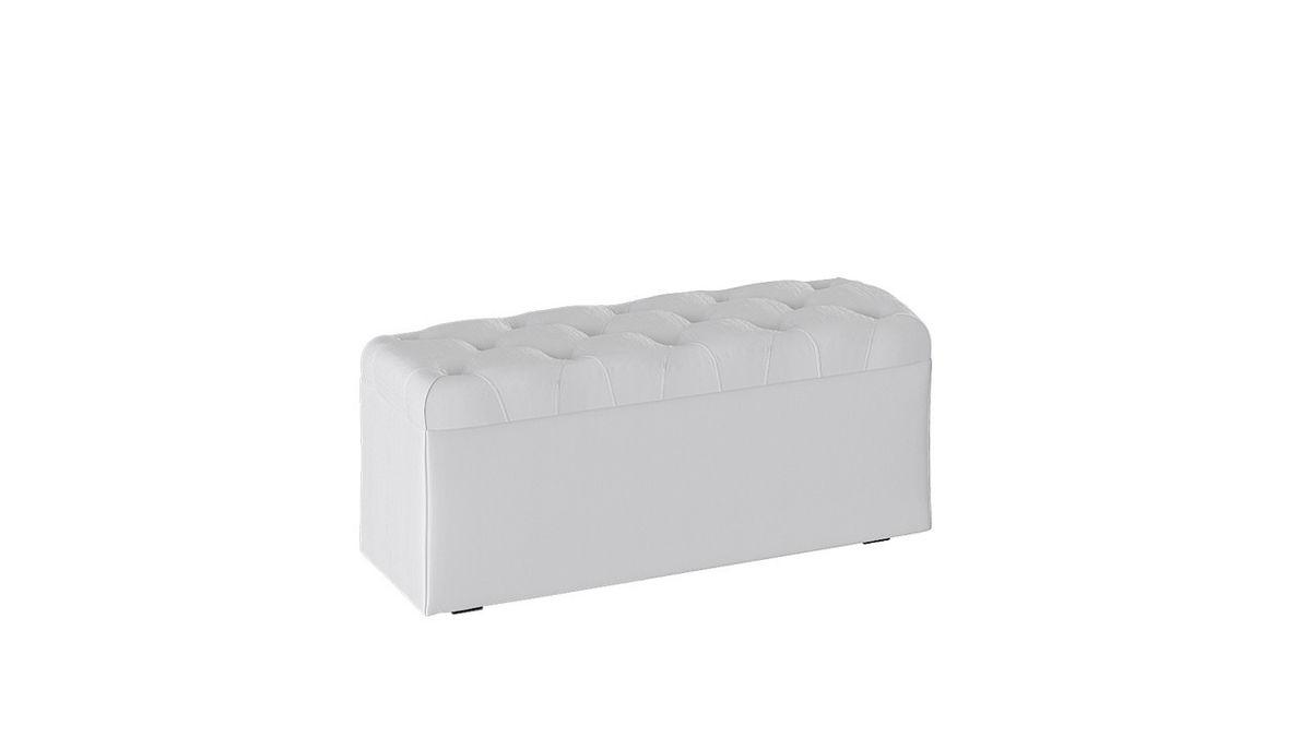 Пуфик ТриЯ Тип 3 (Белый кашемир) - фото 2