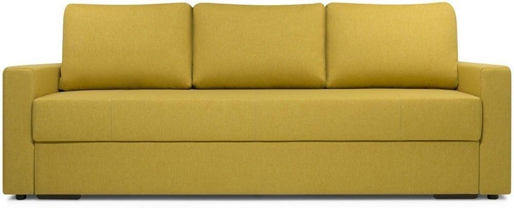 Диван Woodcraft Порту Textile Yellow - фото 1