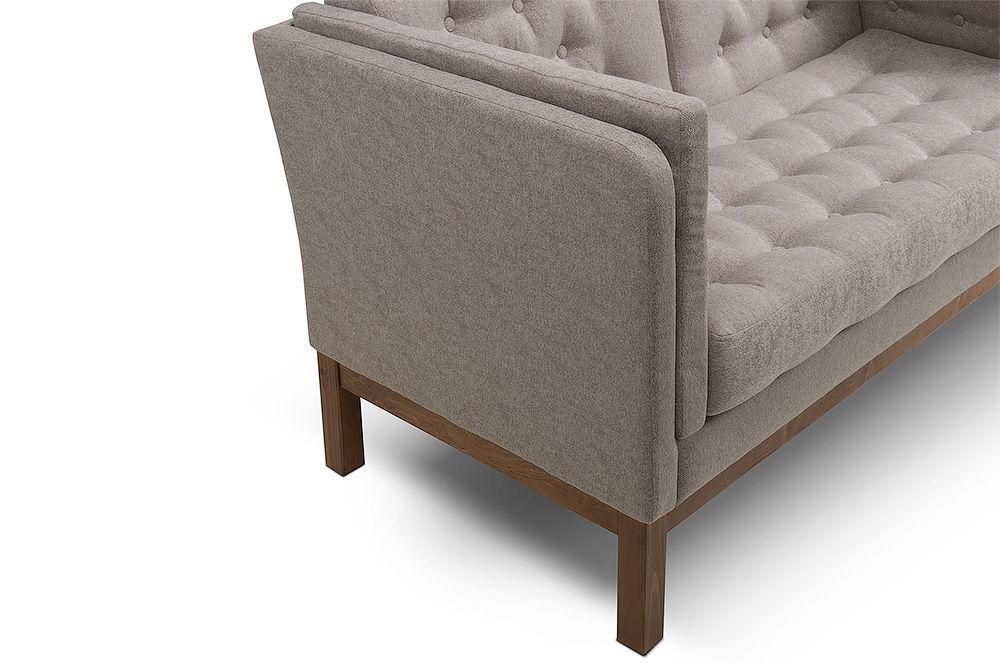 Диван Woodcraft Айверс Textile Beige (прямой) - фото 9