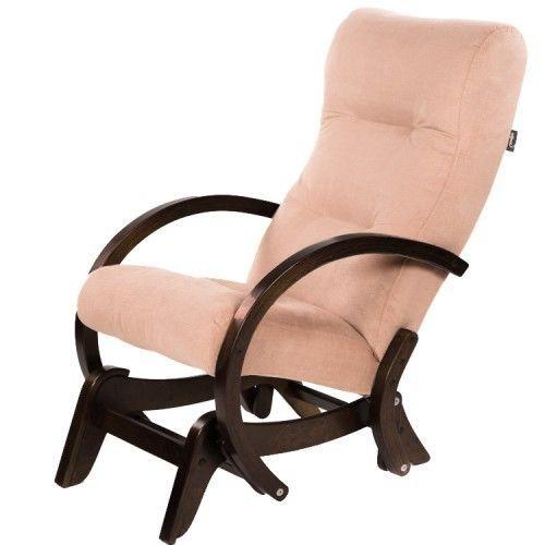 Кресло Greentree Мэтисон венге структура/ткань перламутр - фото 1