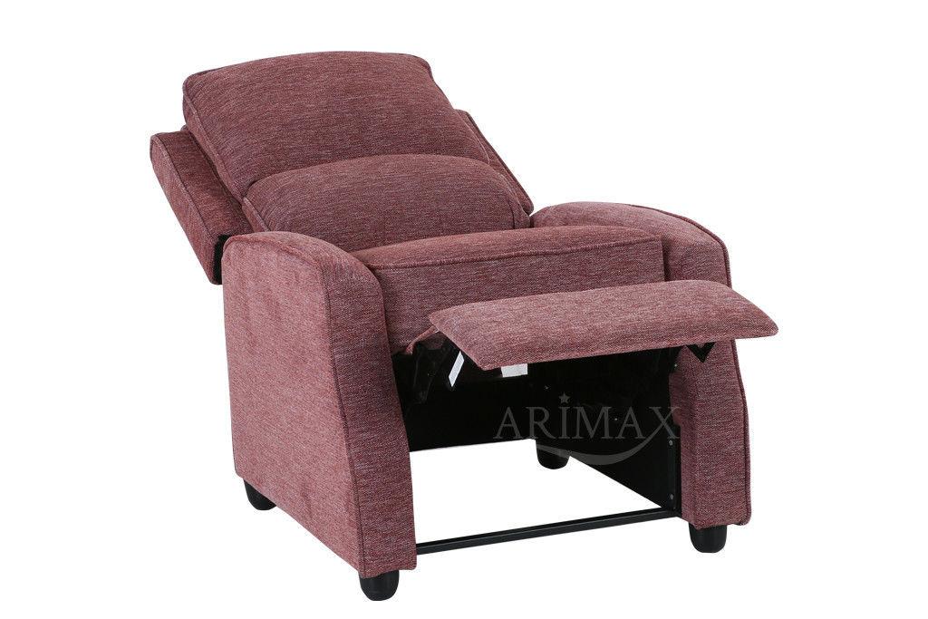 Кресло Arimax Dr Max DM02001 (Брусничный) - фото 4