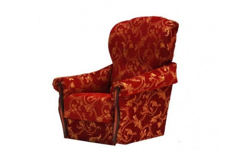 Кресло Луховицкая мебельная фабрика Уют бордо - фото 1