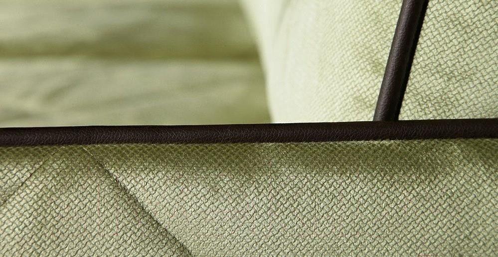 Диван Rivalli Марсель двойной Blitz 17 к/з Domus Chocolate - фото 3