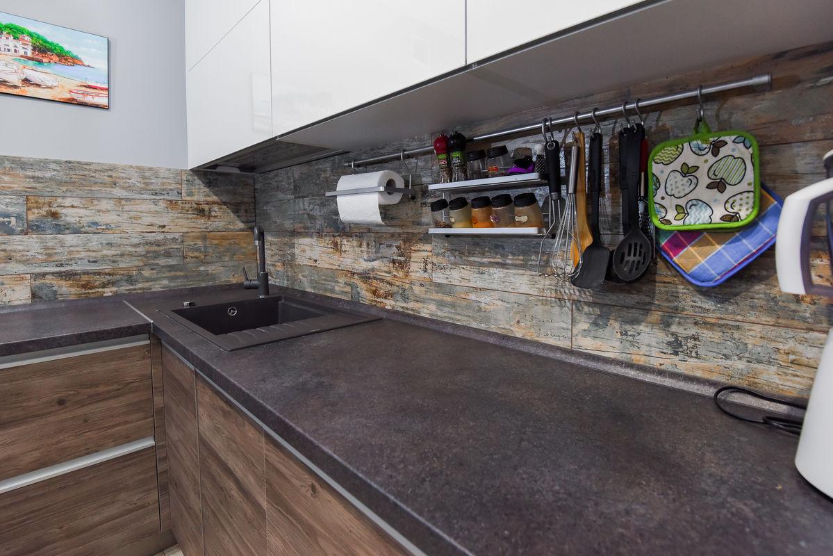 Кухня Шеф кухни из акрила и CLEAF - фото 15