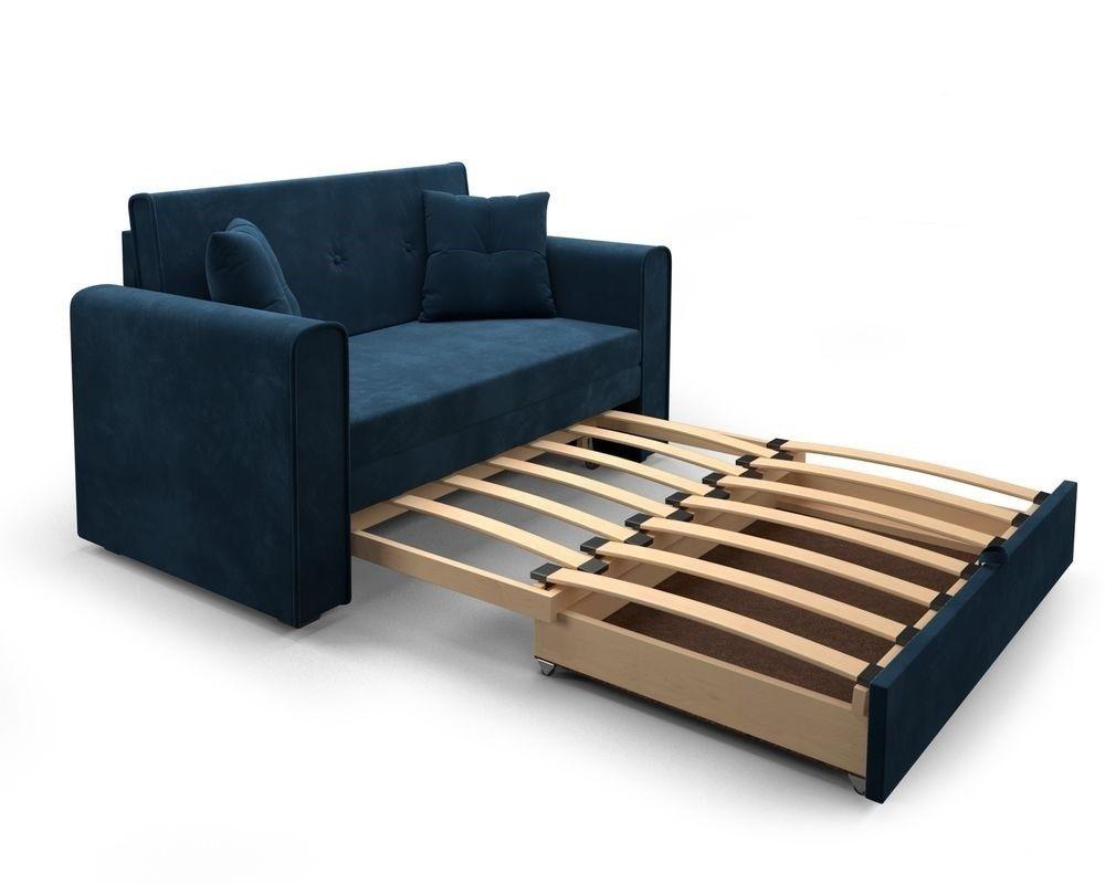 Диван Мебель-АРС Санта Luna 034 темно-синий - фото 5