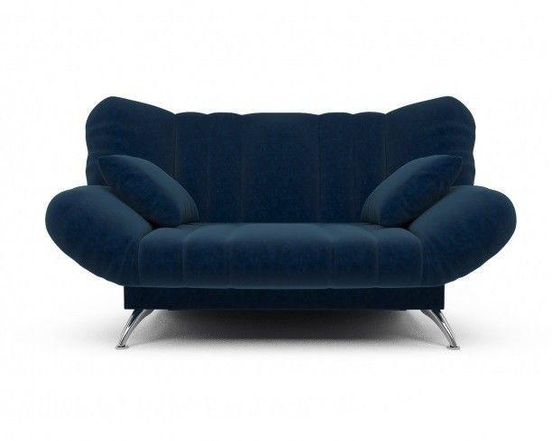 Диван Мебель-АРС Гольф Luna 034 темно-синий - фото 1
