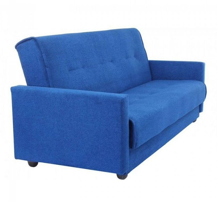 Диван Луховицкая мебельная фабрика Милан (Астра синий) 140x190 - фото 2