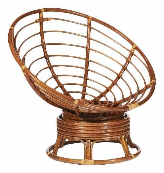Кресло TetChair Papasan TET_10523, коричневый - фото 1