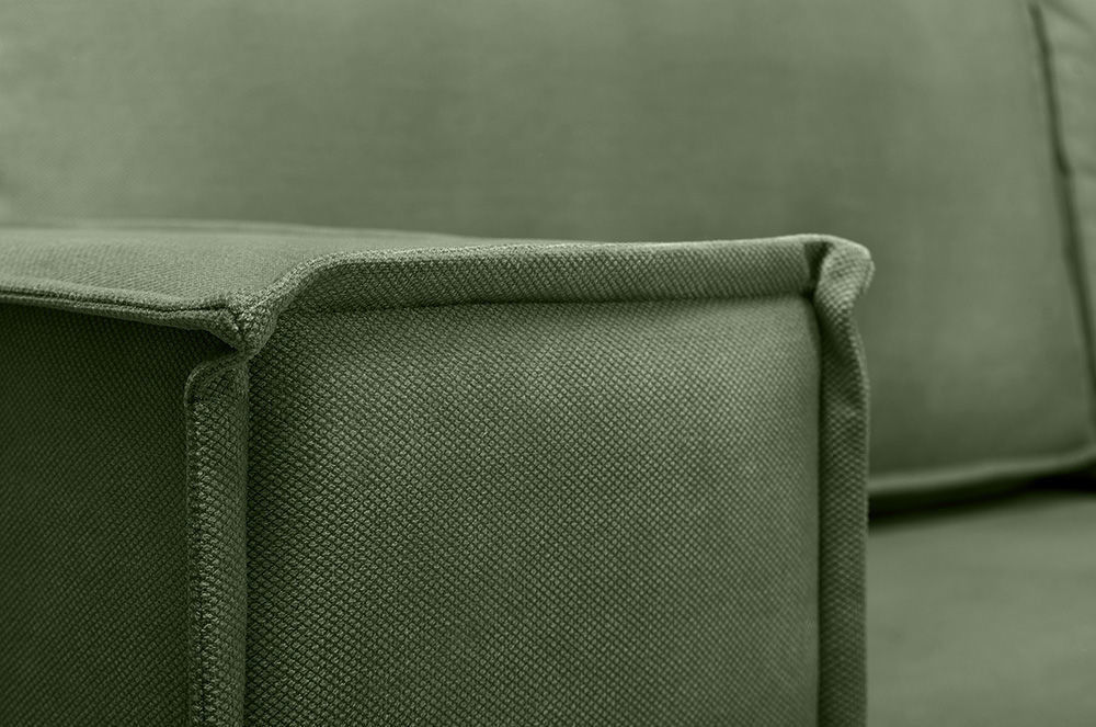 Диван Woodcraft Угловой Лофт Velvet Green - фото 12
