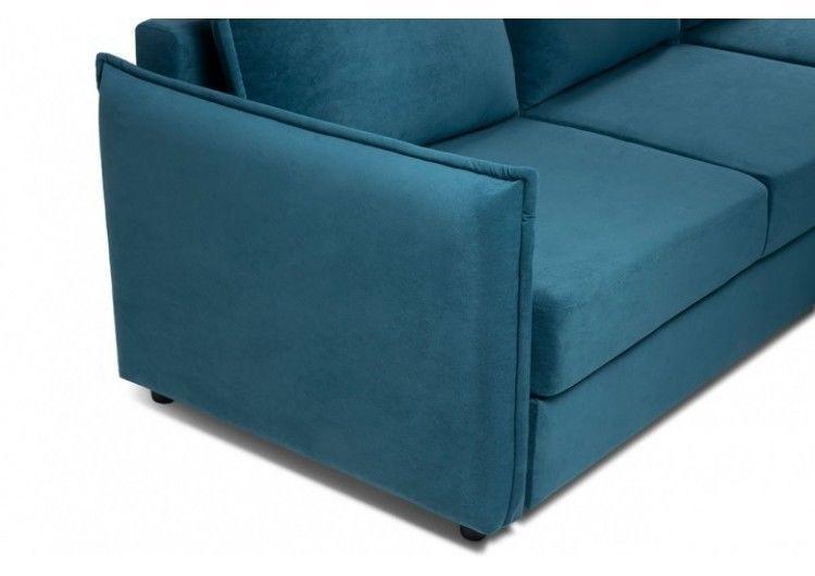 Диван Craftmebel Плей Джерси (вельвет голубой) - фото 3