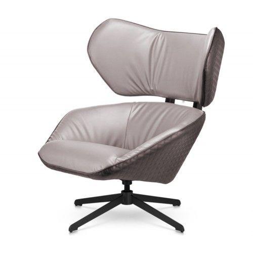 Кресло Альта Мебель Лаундж серый - фото 1