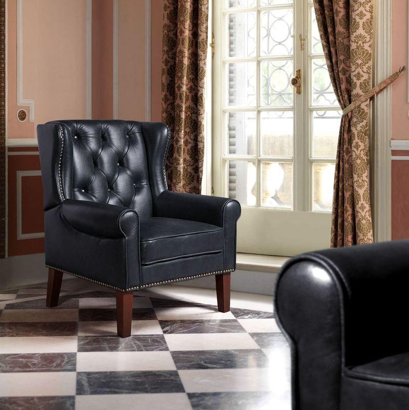 Кресло ZMF Престиж (черный) - фото 1