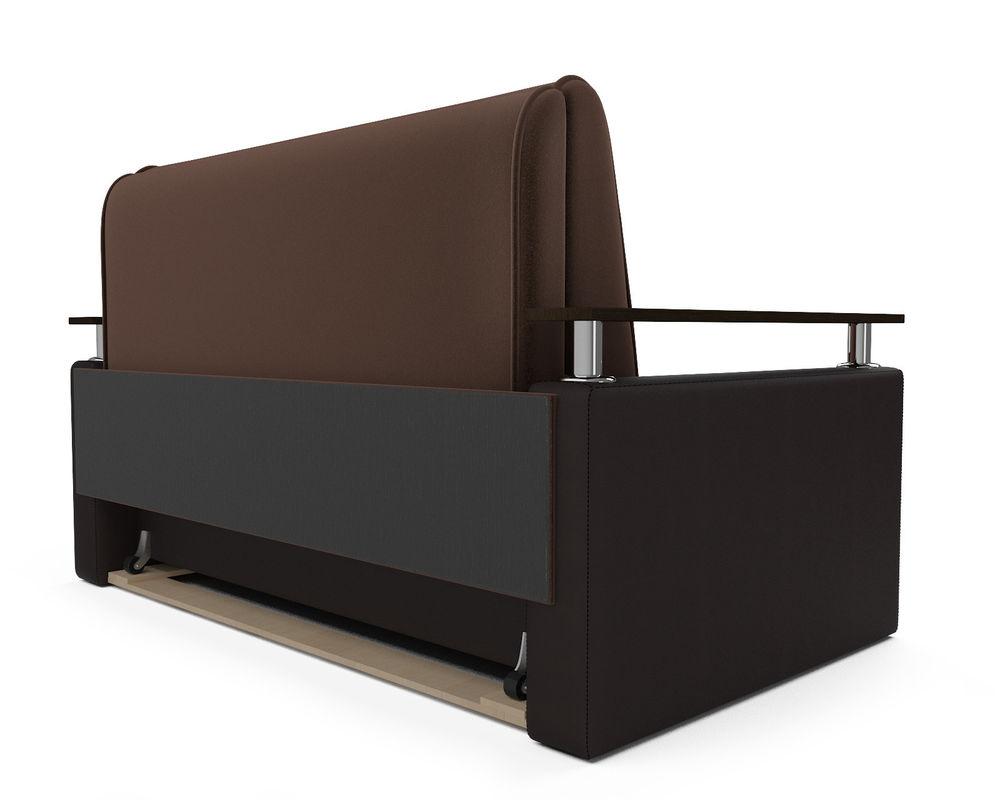 Диван Мебель-АРС Шарм — шоколад (140х195) - фото 4