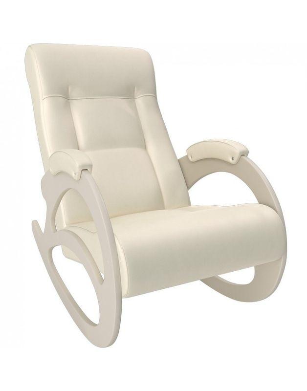 Кресло Impex Модель 4 б/л сливочный экокожа (polaris beige) - фото 5