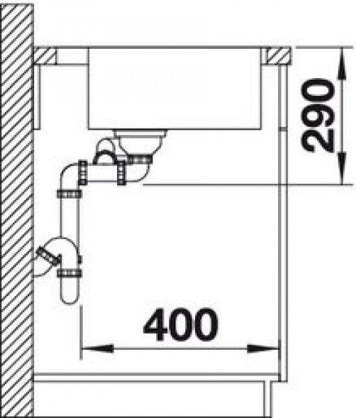 Мойка для кухни Blanco Andano 340/180-IF/A (522996) - фото 3