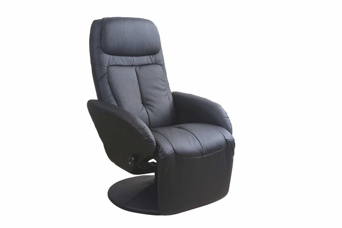 Кресло Halmar OPTIMA (черный) V-CH-OPTIMA-FOT-CZARNY - фото 1