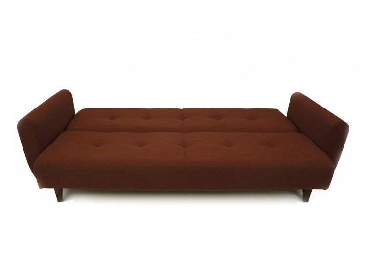 Диван Луховицкая мебельная фабрика Сканди коричневый - фото 5