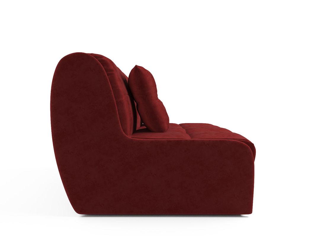 Диван Мебель-АРС Аккордеон Барон №2 (бархат красный  STAR VELVET 3 DARK RED) - фото 3