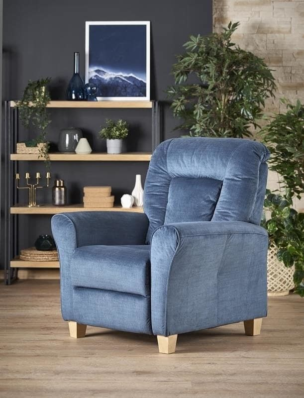 Кресло Halmar BARD (темно-синий) V-CH-BARD-FOT-NIEBIESKI - фото 2