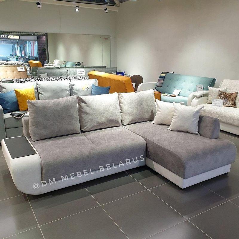 Диван DM-мебель Поло угловой (серый) - фото 1