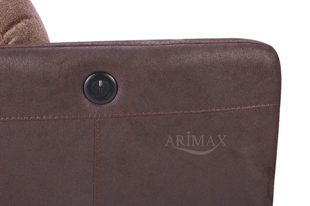 Кресло Arimax Мюррей (Шоколадная крошка/Пралине) - фото 7