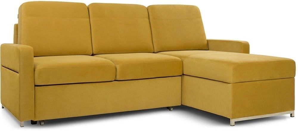 Диван Woodcraft Модульный Гувер-2 Velvet Yellow (уцененный) - фото 11