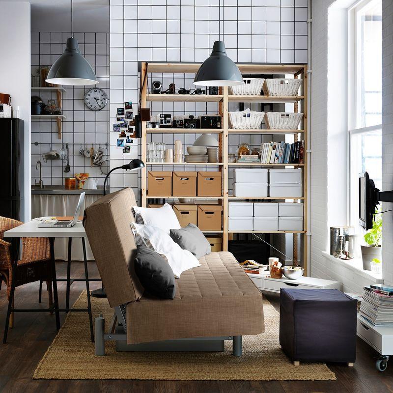 Диван IKEA Бединге бежевый [593.091.15] - фото 7
