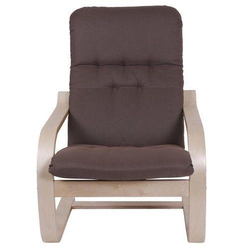 Кресло Greentree Сайма береза/ткань Кофе - фото 2