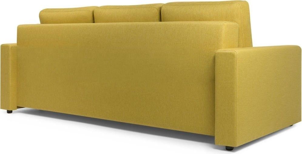 Диван Woodcraft Порту Textile Yellow - фото 5