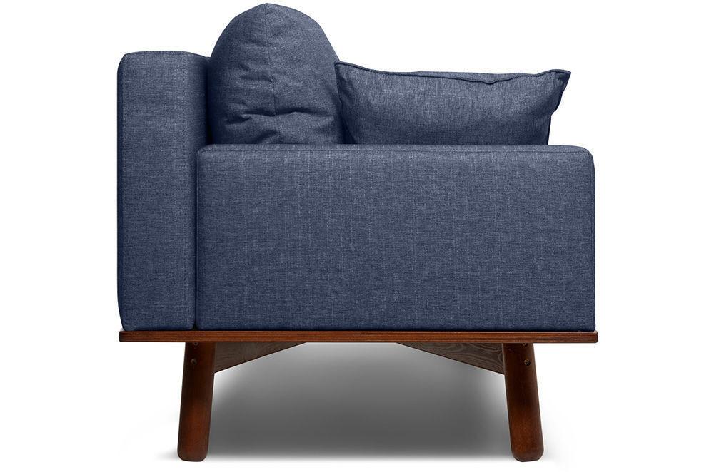 Диван Woodcraft Миннесота Textile Blue - фото 4