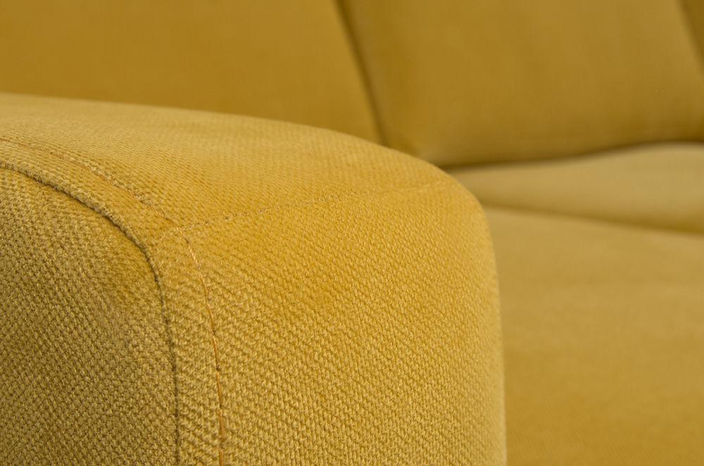 Диван Woodcraft Модульный Гувер-2 Velvet Yellow (уцененный) - фото 20