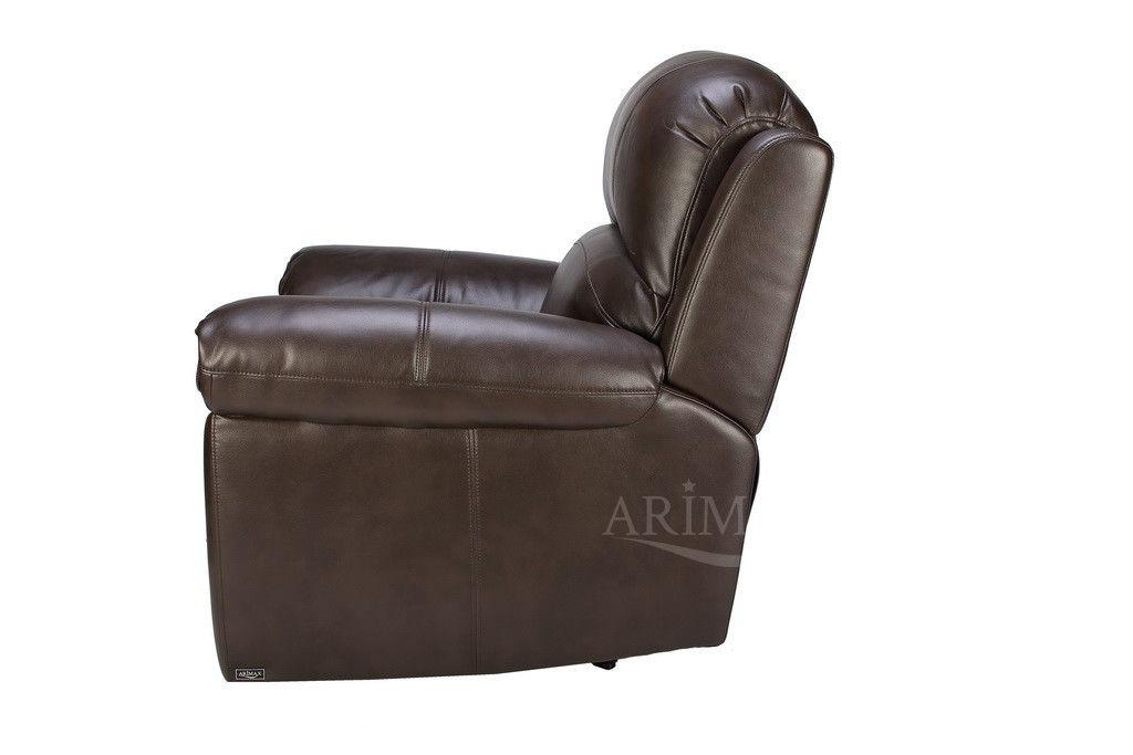 Кресло Arimax Миллер N (Темный каштан) - фото 5