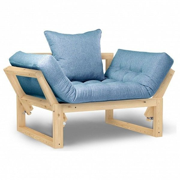 Кресло Anderson Амбер AND_120set293, голубой - фото 1