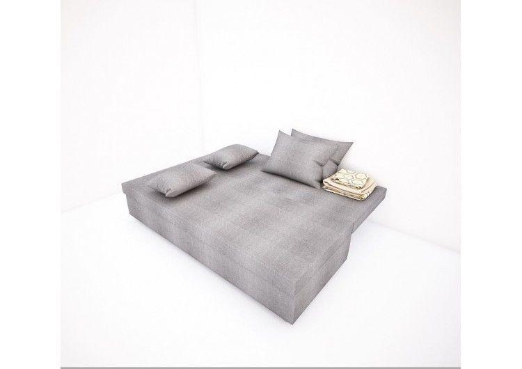 Диван Раевская мебельная фабрика Рогожка Однатон Серый 00426 - фото 2