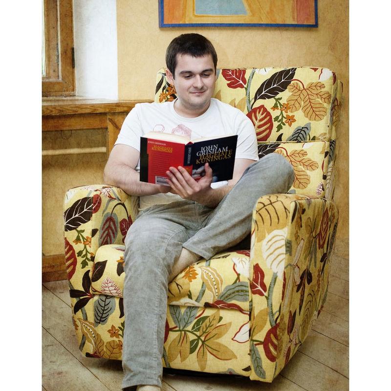 Кресло Bellus Ravenna с реклайнером - фото 1