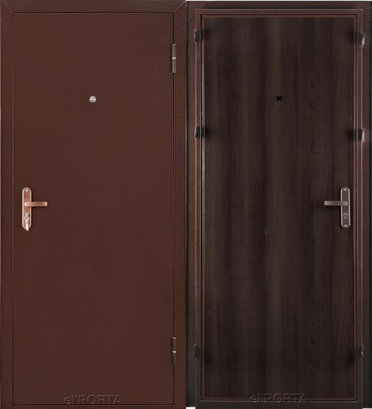Входная дверь el'PORTA Ультра Лайт (антик медь/венге) - фото 1