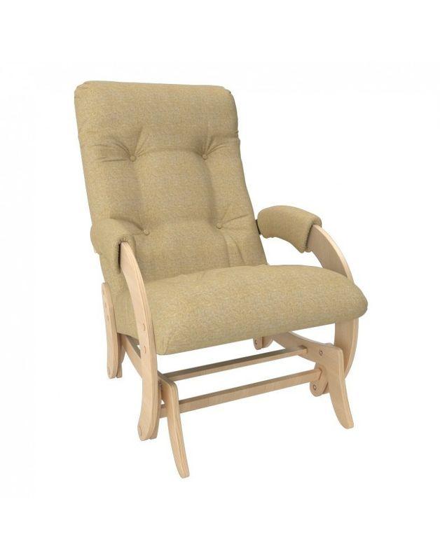 Кресло Impex Кресло-гляйдер Модель 68 Мальта натуральный (Мальта 3) - фото 1